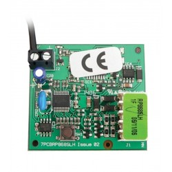 RP 868 SLH radio receiver to FAAC control panel