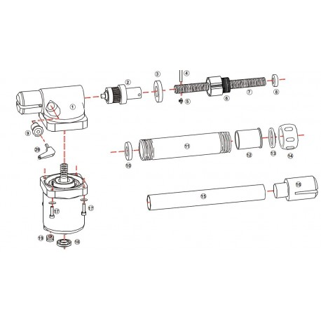 Proteco Aster spare parts